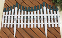 clear plastic picket panel fence, cheap house fence and gates