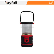 Bright Rechargeable Battery Powered Hand Crank 18650 li-ion battery LED Camping Lantern