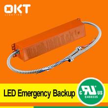 UL listed led emergency power battery system for led panel light emergency kit UL NO E469335