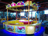 2015 Marvelous Rainbow indoor fourside style carnival amusement park game booth for hot sale