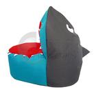 tubarão design beanbag cobrir