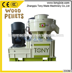 (A) TYJ860-III Advanced technology with grease lubrication and SKF bearing pellet press Mill