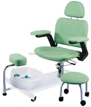 spa furniture; durable spa pedicure chair with stool