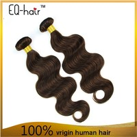 Gold Supplier Chinese Remy Hair Weave Dark Brown Hair Color Pictures