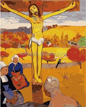 JESUS CHRIST OIL PAINTING NAKED OIL PAINTINGS BY NUMBERS 40*50