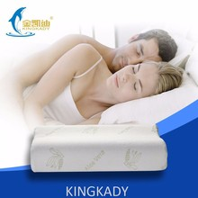 Non-toxic bamboo jacquard cover memory foam japanese love pillow