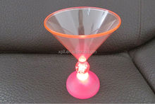 Alibaba Express, Made in China Shenzhen manufactory lost cost led drinking glass by DHL courier