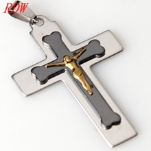 Unusual Meaningful Tribal Crucifix Cross Pendant Necklace ,Cheap Wholesale Metal Pendants