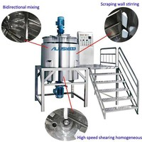 liquid hand soap producing equipment, pharmaceutical, skin cream machine