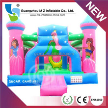 High Quality Bouncy Castle And Inflatable Bouncer Professional Inflatable Castle For Girl
