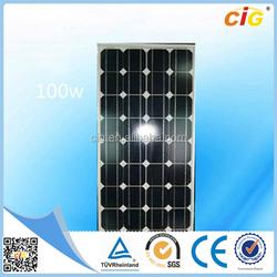 TUV approved Cheap MONO 120W 12V Portable Flexible Solar Panel