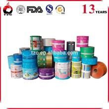 Custom Print food grade plastic film /food packaging plastic roll film