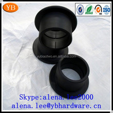 Custom flanged plastic bushing,electric motor bushing ISO9001 Passed