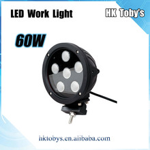 Car led work light , 12V offroad led work lamp for atv,suv, 7inch Alu firm bracket 60 watt led work light