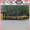 Chinese military trailer enterprise!!! SINOTRUK flatbed semi trailer,low flatbed semi trailer