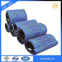 Abrasive polyester fabric endless pattern conveyor belt for agricultural ( Professional )