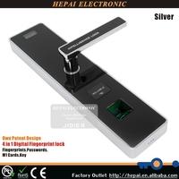 Hotel fingerprint lock touch screen biometric door lock