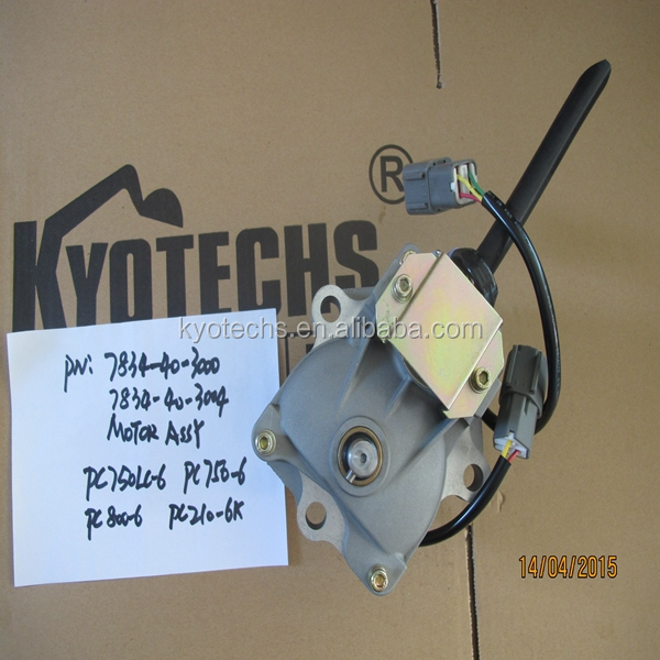 EXCAVATOR PARTS MOTOR ASSY FOR 7834-40-3000 7834-40-3001 7834-40-3002 7834-40-3003 7834-40-3004 PC800-6 PC750-6 PC750LC-6  .jpg