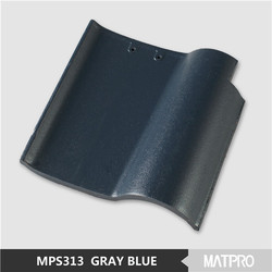 Chinese Clay Material Plain Roof Tile For Concrete Roof Tile