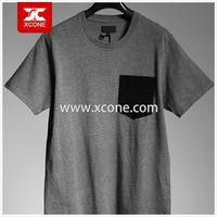xc10-01unisex blank 94% cotton 6% elastane fabric t shirt high quality plain t-shirt