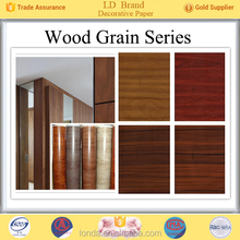 Top Manufacturer Wood grain alibaba china wood furniture decor paper wholesale