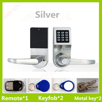 High quality electronic digital door lock with remote control.