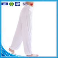 OEM bulking buy closed bottom polyester/cotton yarn custom women yoga pants wholesale
