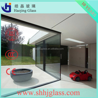 Haojing 8mm laminated glass with CE certificated