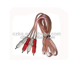 low price 10 inch vga and rca input monitor vga to rca converter din cables to rca