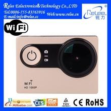 Full HD 1080P outdoor waterproof camera xiaomi yi wifi sports action camera