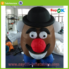 air blown inflatable cartoon model characters