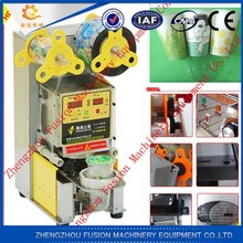 2015 milk cup sealer for milk tea/juicer/bubble tea machine