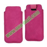 Universal Sleeve Pouch Bag Soft Leather Case for iphone 5c