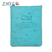 OEM teens 12.5 inch shockproof leather fancy laptop bag for tablet pc sleeve cover case with animal print