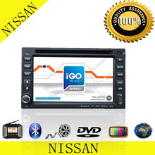 OEM X-Trail 2 Din Car DVD Car Radio With GPS MP3/MP4 Player TV Window CE6.0 Built In Bluetooth With Camera