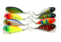 Wholesale In Stock High Simulation fishing lures hard plastic vibrate VIB swimbaits