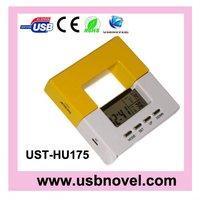 OEM Clock Function USB 2.0 4 POT HUB