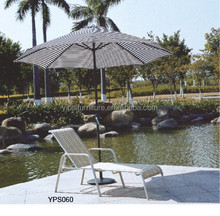 Waterproof aluminum sun lounger with corrientes forest cloth YPS060
