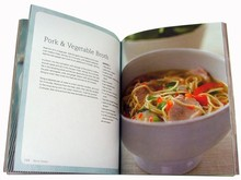 Full Color China Manufacturer Cook Book Printing