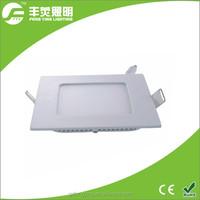 high brightness 3W led square panel light, flat led panel light, led ceiling light