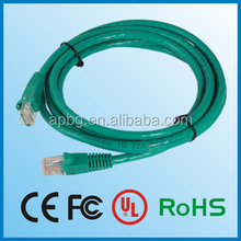 PVC or LSOH Cable Lan SFtp cat 6 network cable DOUBLE SHIELDED with or no patch cord bulk made in China