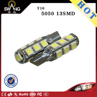 LED car accessories Xenon auto T10 W5W 194 501 158 168 5050 13SMD 12v 24v canbus Side Bulb lamp interior width reading light
