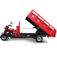 Made in Chongqing 200CC 175cc motorcycle truck 3-wheel tricycle 200cc motorized bicycle for cargo