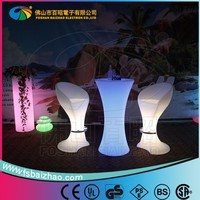 used nightclub LED furniture bar counter/bar table/popular led furniture with battery