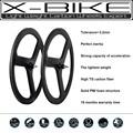 3 k acabado mate rueda de bicicleta 3 habló rueda del carbón