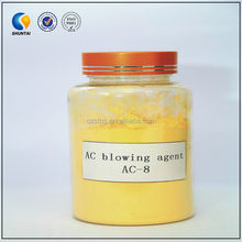 Chemical foam elastic material azodicarbonamide blowing agent
