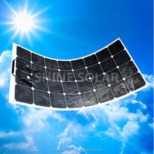 High Quality Semi Flexible Solar Panel, Sunpower Solar Cells High Efficiency Flexible Solar Panel