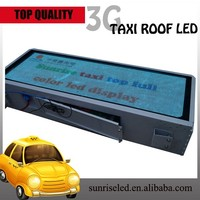 high brightness & resoluction p5 p6 led car/taxi sign Usage