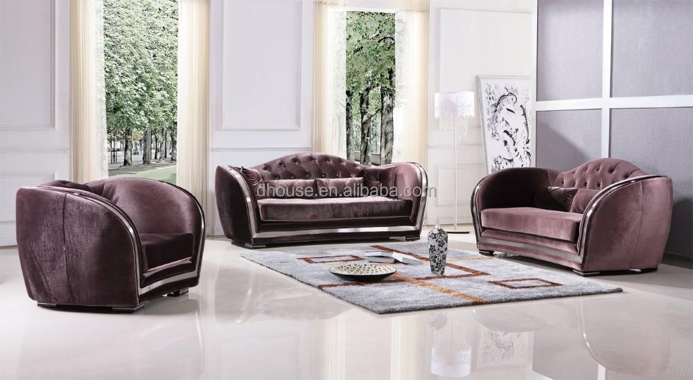 Italian Furniture Sofa : Italian luxury neoclassical furniture fabric sofa AL173, View elegant ...