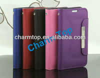 Luxury Leather Wallet Case For Samsung Galaxy S4 i9500